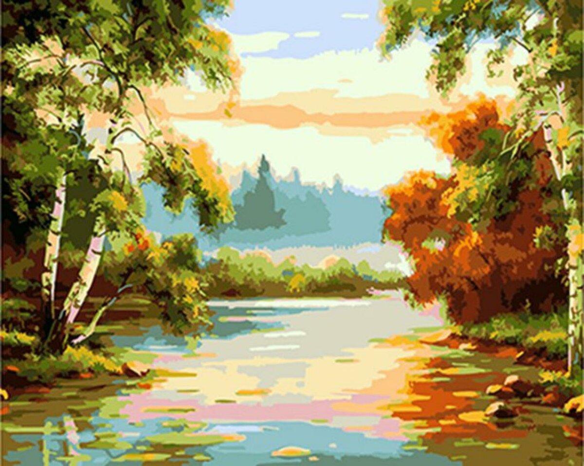 Картинка природа живопись