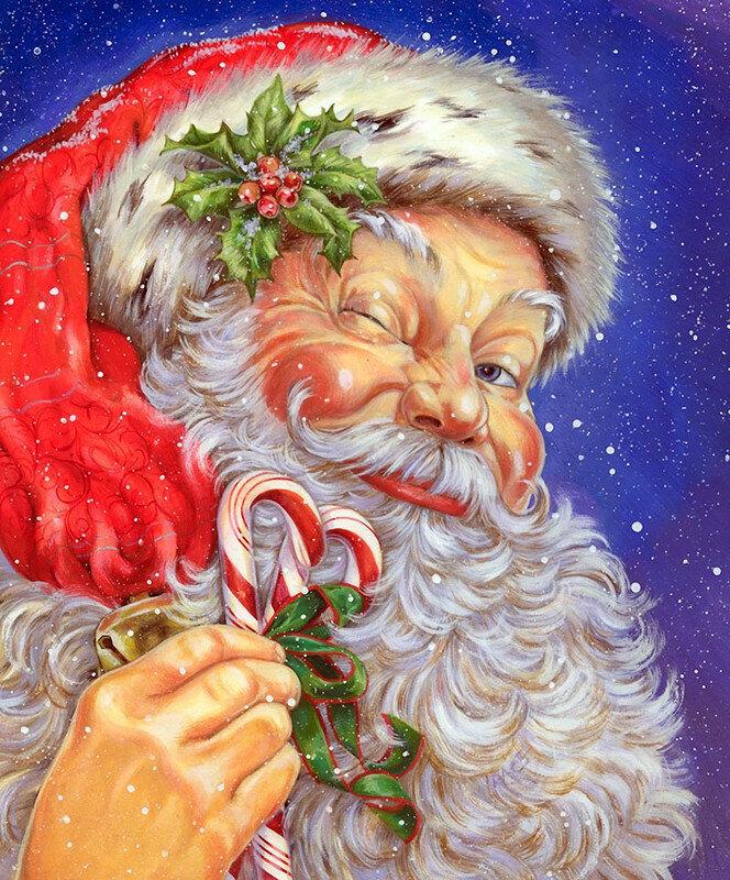Цыганские, картинки деда мороза с поздравлением нового года