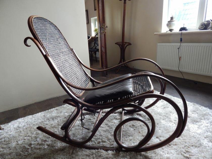 ничем старинная стулья и кресла качалки фото моих