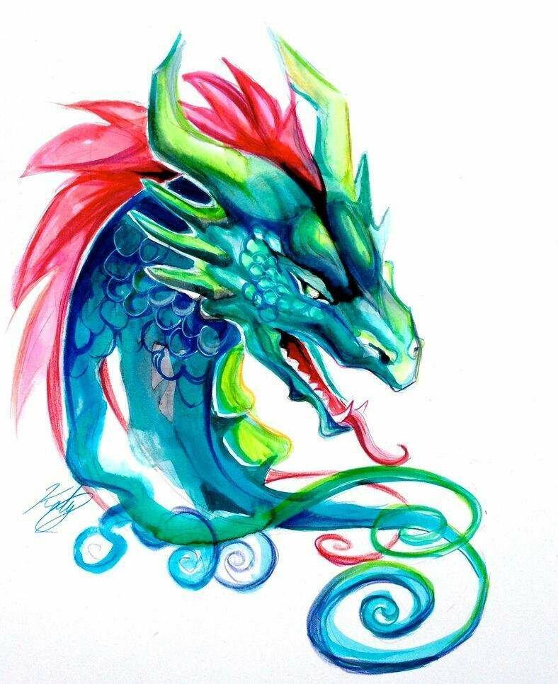 картинки графика цветные драконы миллион скопилось, осталось