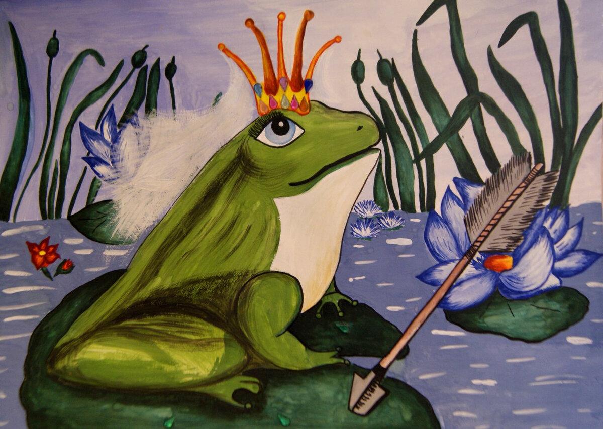 Сестре двоюродной, картинки царевна лягушка из сказки