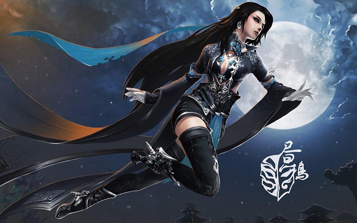 Персонажи онлайн игр девушки