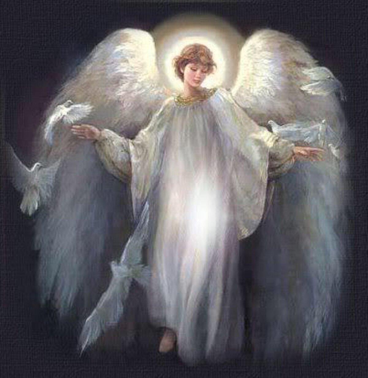 Картинки с изображением ангелов