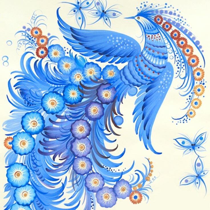 синяя птица удачи в картинках частных домов последнее