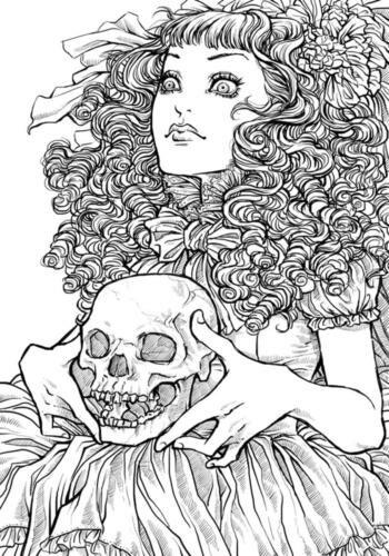 «Раскраска на Хэллоуин - распечатать в хорошем качестве на ...