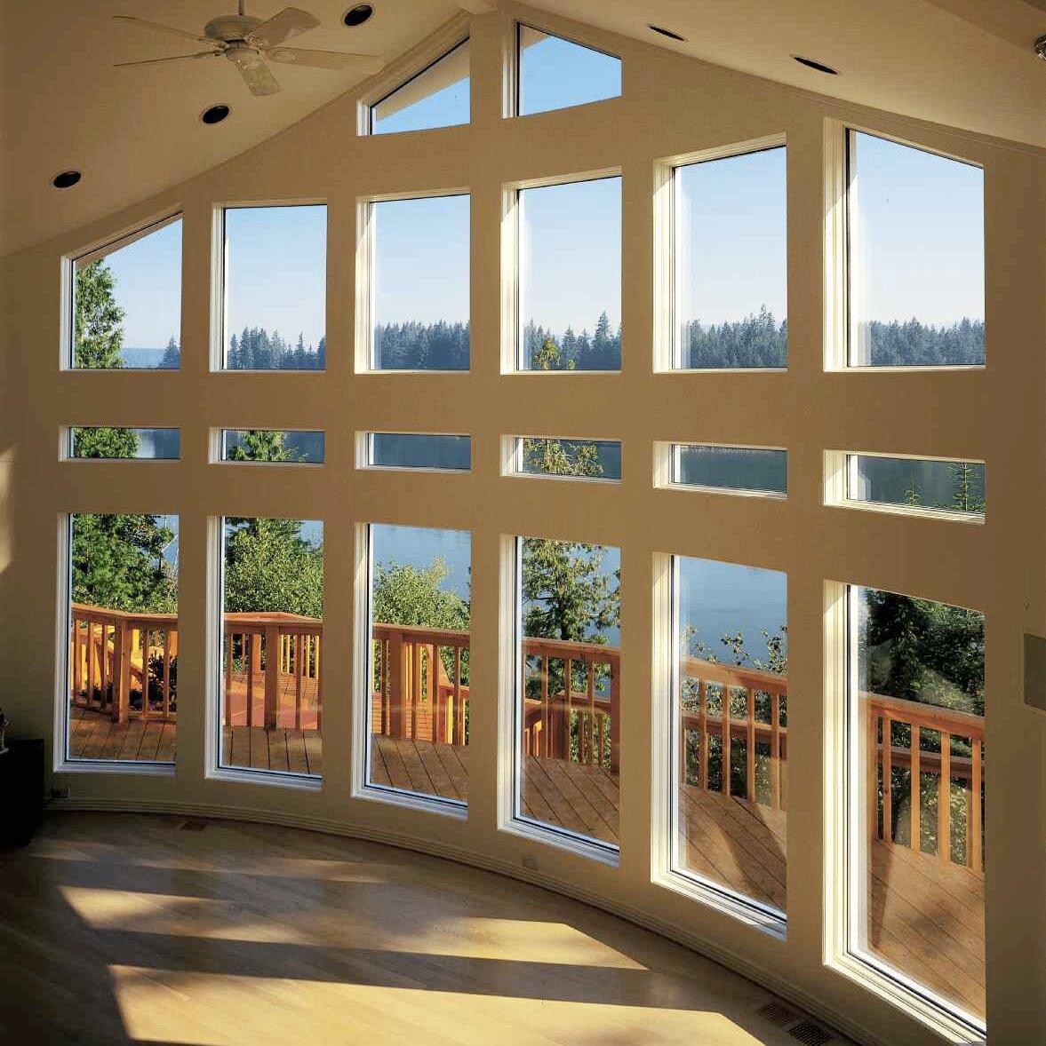 что красивые окна в домах фото полного заживления шва