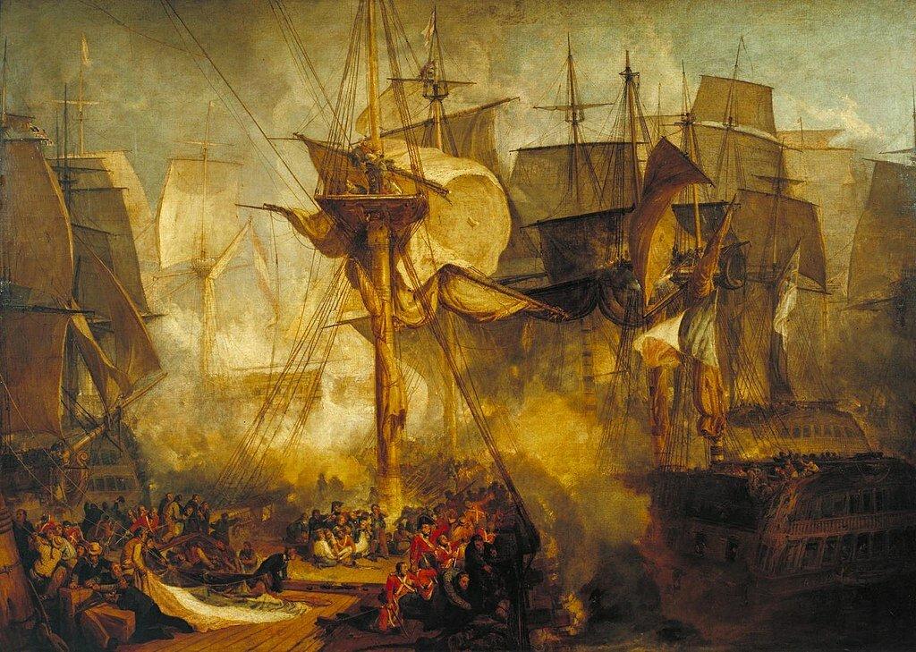 21 октября 1805 года произошло Трафальгарское сражение