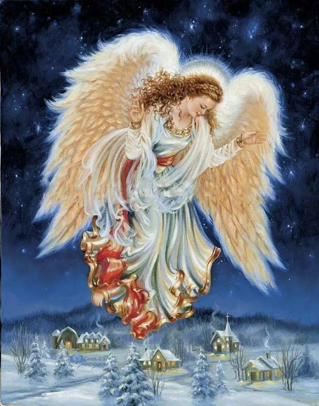 Картинки рождественский ангел