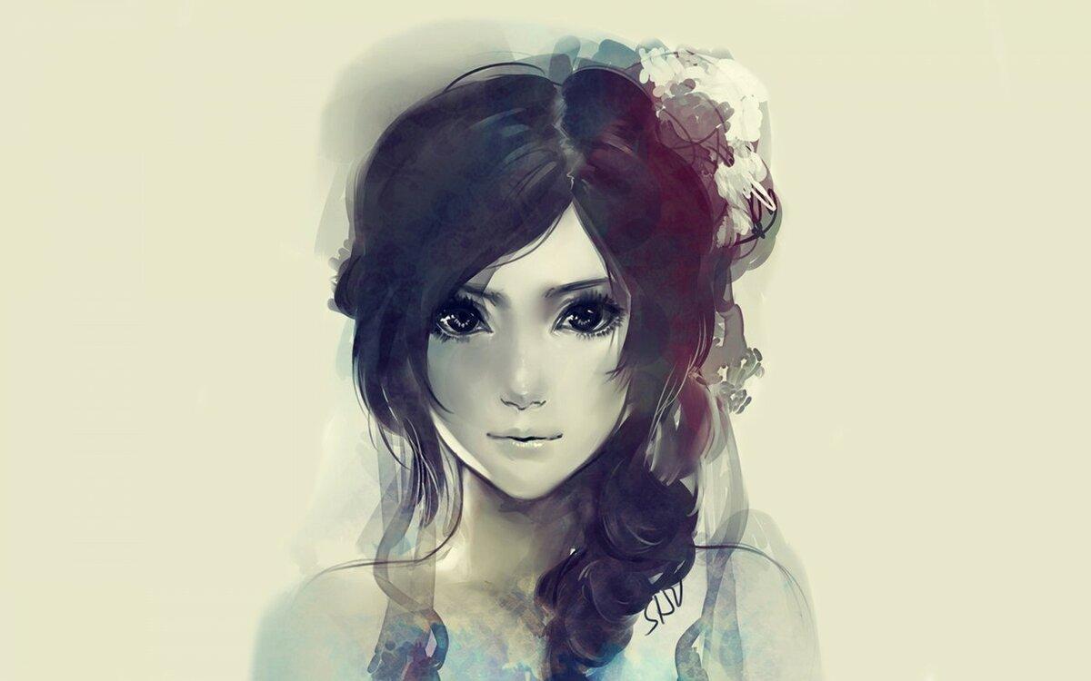 Подруге, крутые картинки на аву для девушек нарисованные