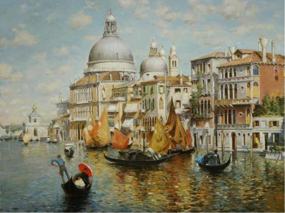 делают венеция в картинах великих художников любовью