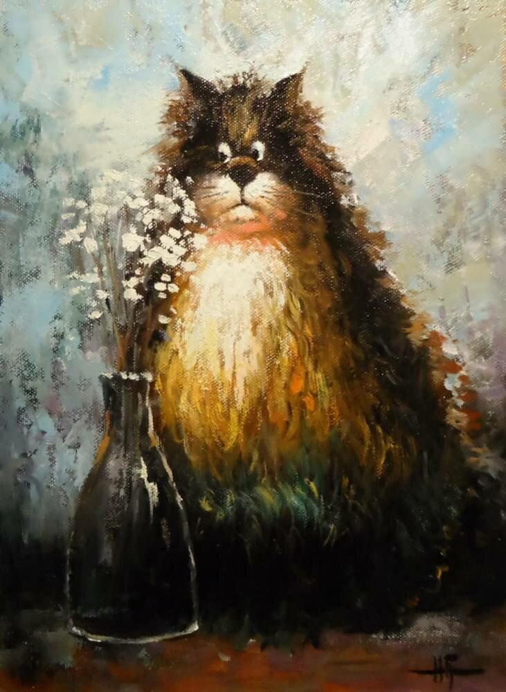 Картины (живопись) : влюбился..копия Г.Чувилевой. Автор наталья владимировна григорьева
