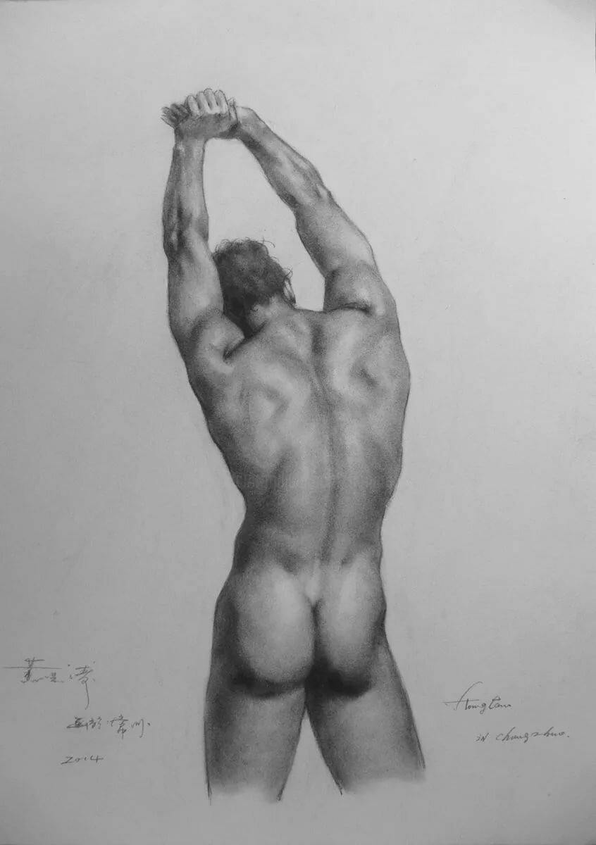 sexy-hand-drawing-of-naked-man