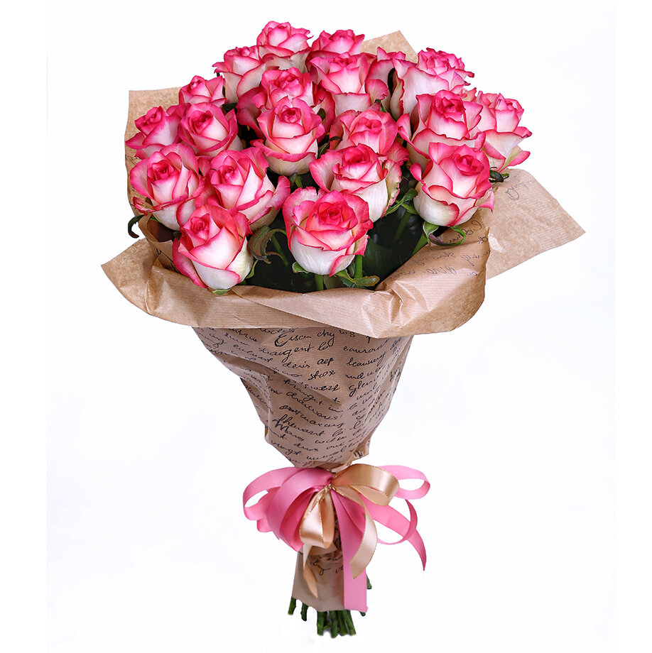 Под, оформить розы в букет фотографии