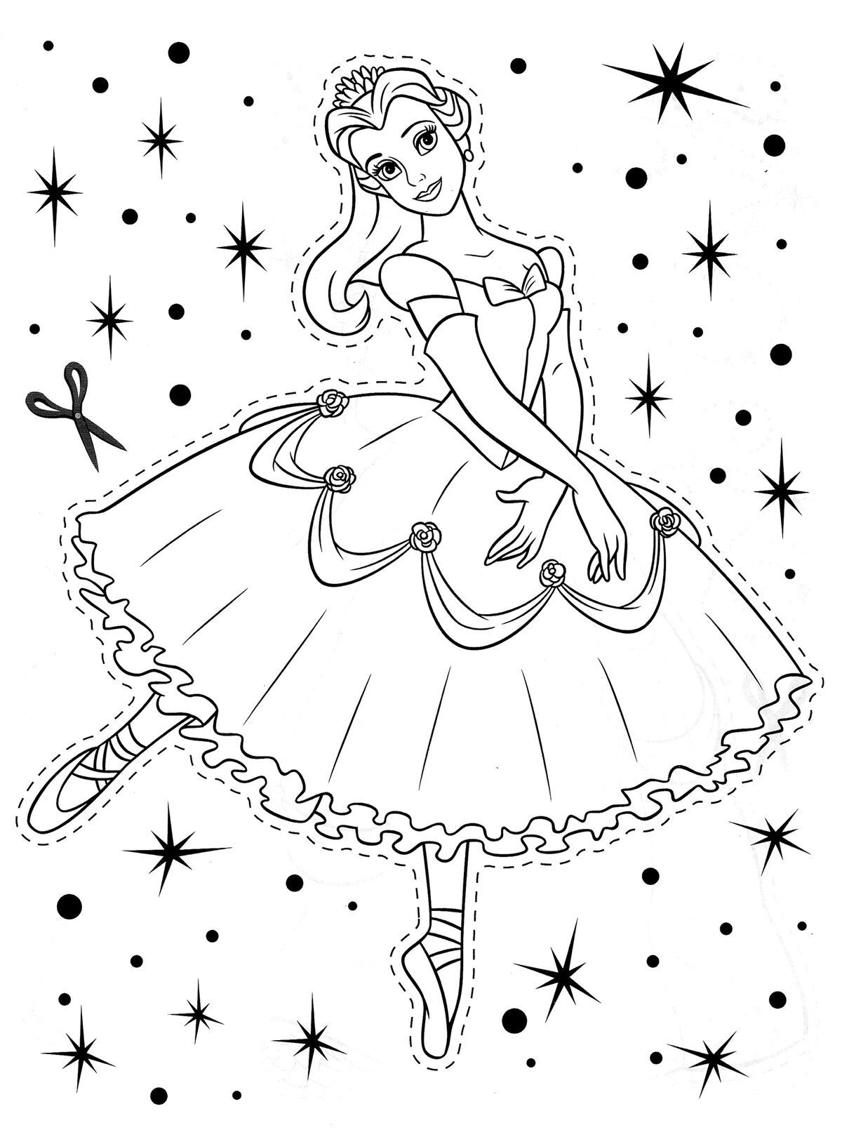 «Раскраски Принцессы Диснея распечатать бесплатно, скачать ...