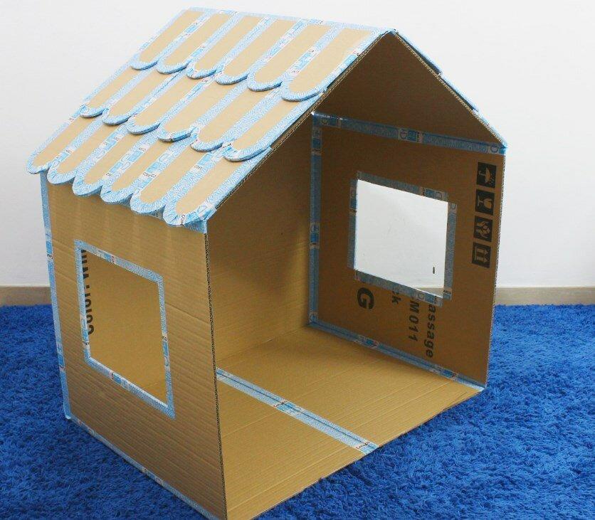 Картинки дом из коробок