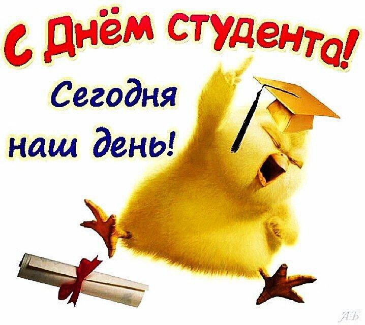 Поздравление ко дню студента в картинках