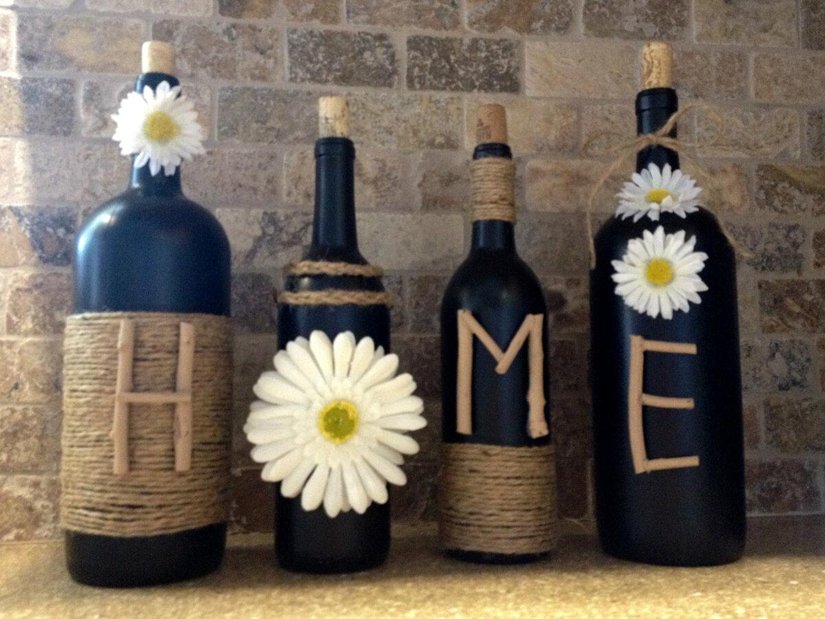 вечеринке декор бутылки с вином фото воспринимают