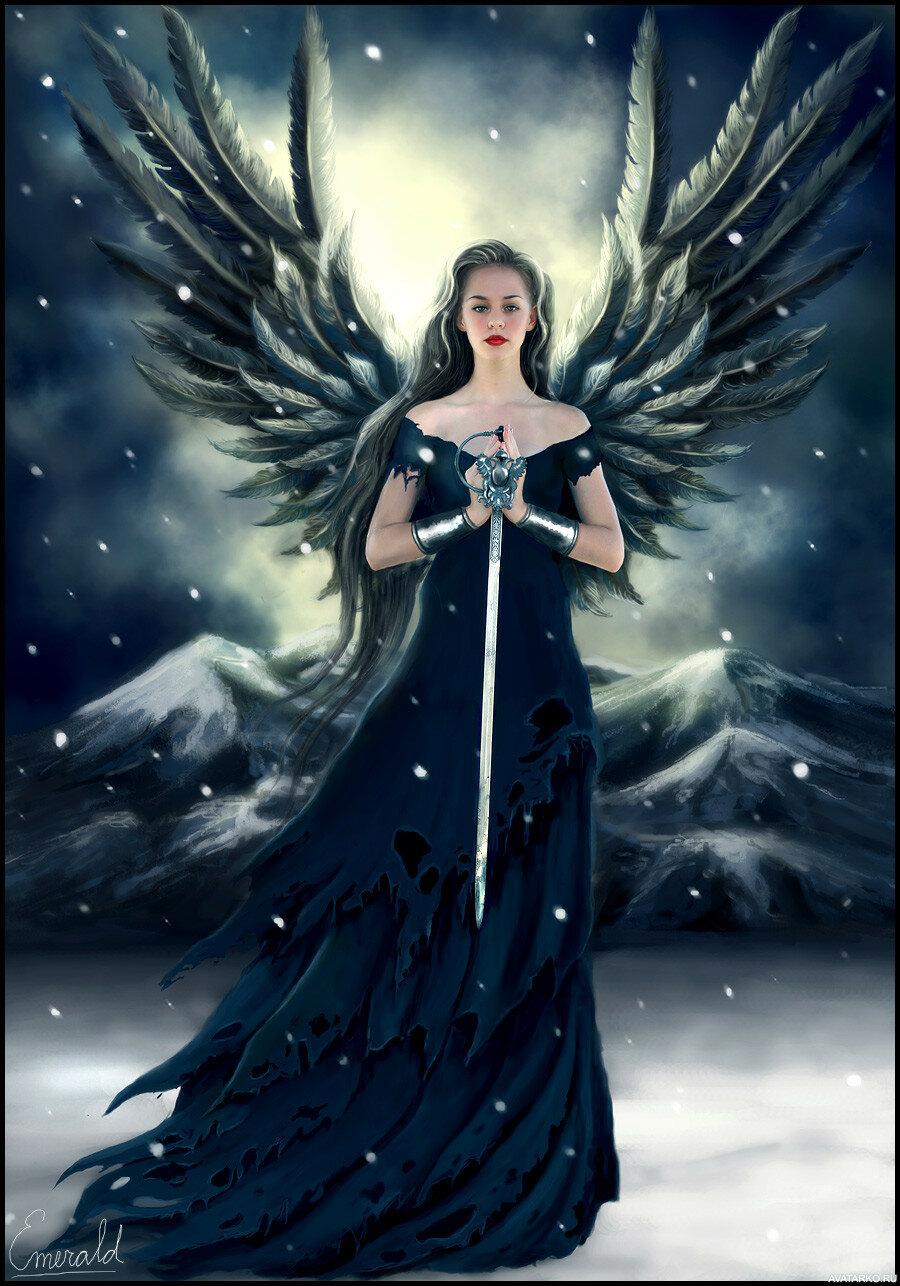 Картинки ангелов для аватара