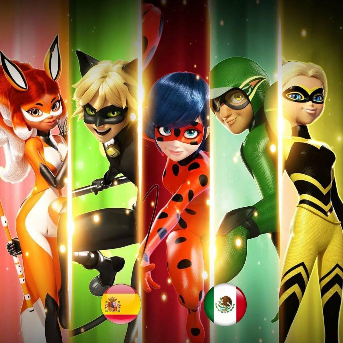 Фото всех героев мультика леди баг и супер кот