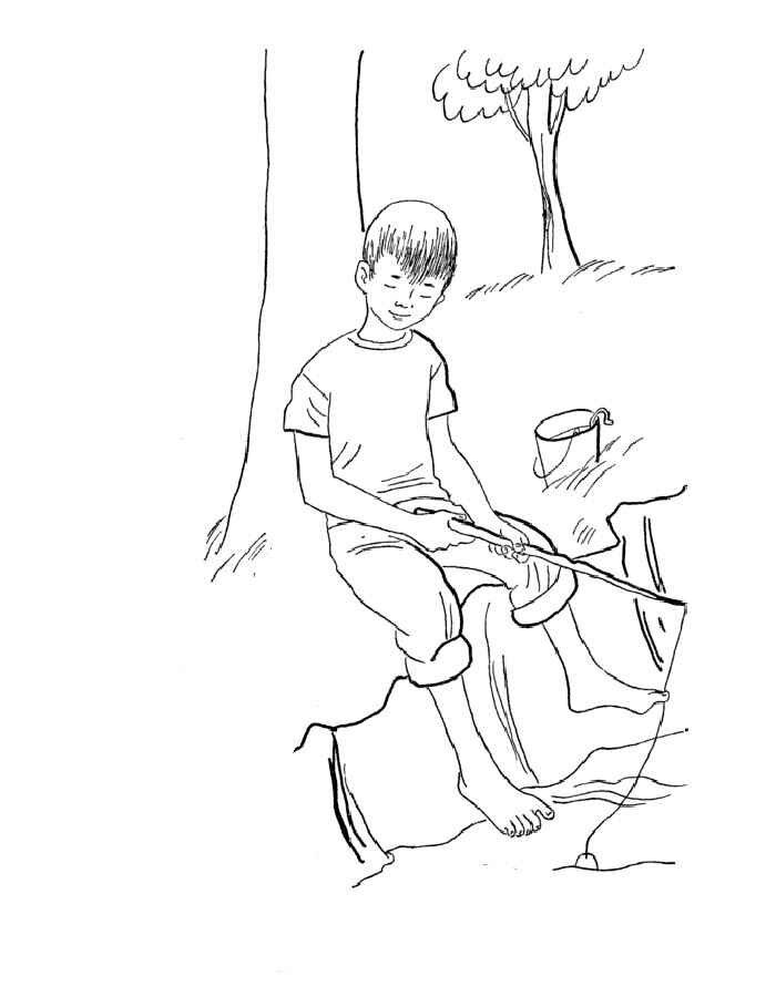 Картинки на тему как я провел лето карандашом