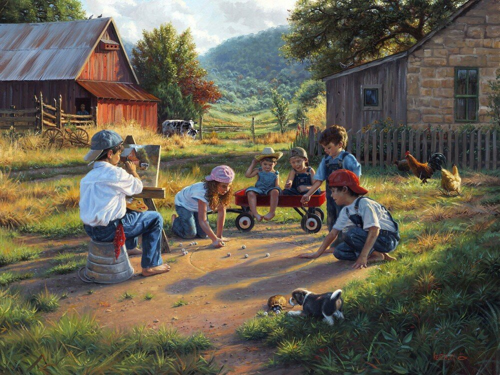 Картинки лето в деревне для детей, дружбе женщины смешные