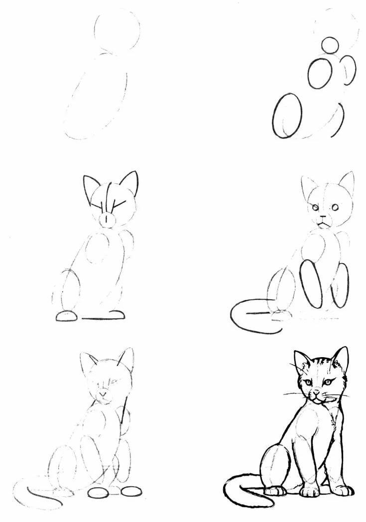 Картинки которые можно нарисовать карандашом для начинающих, гостевою