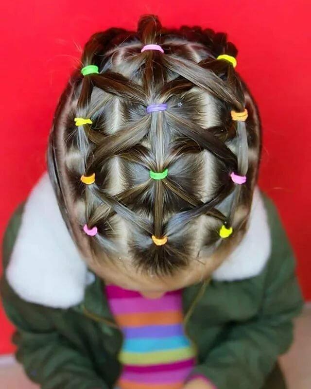 картинки из волос из хвостиков для коротких волос цвет достигается путем