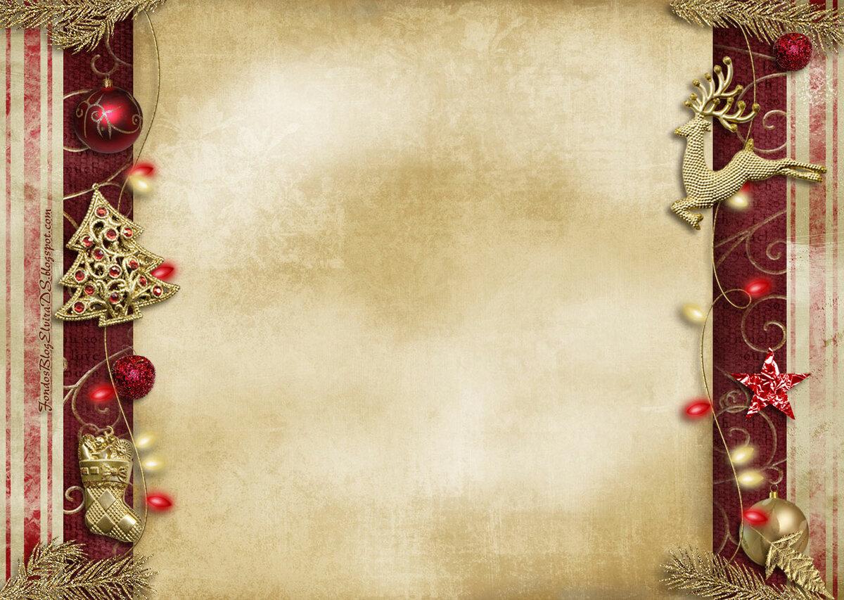 Новогодняя тема для открытки