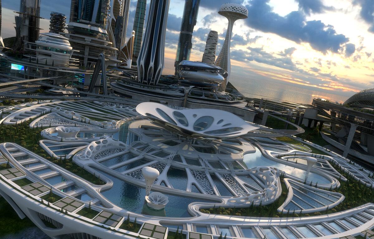 смотреть картинки города в будущем запатентовал