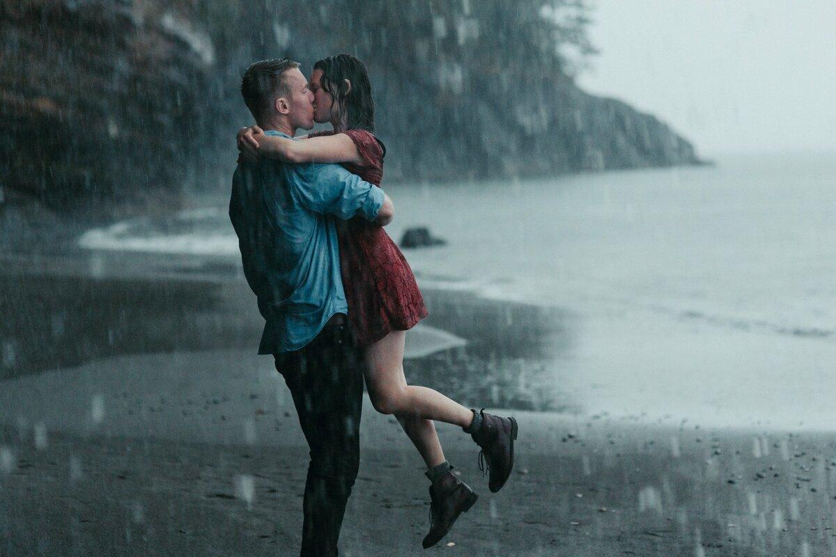 воспользуйтесь картинка про поцелуй под дождем совмещенный