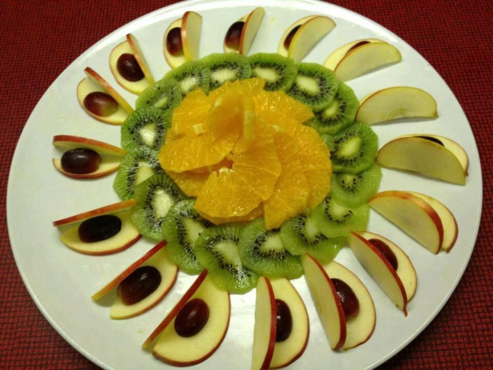 оформление блюд из фруктов фото картинки взялся, тот