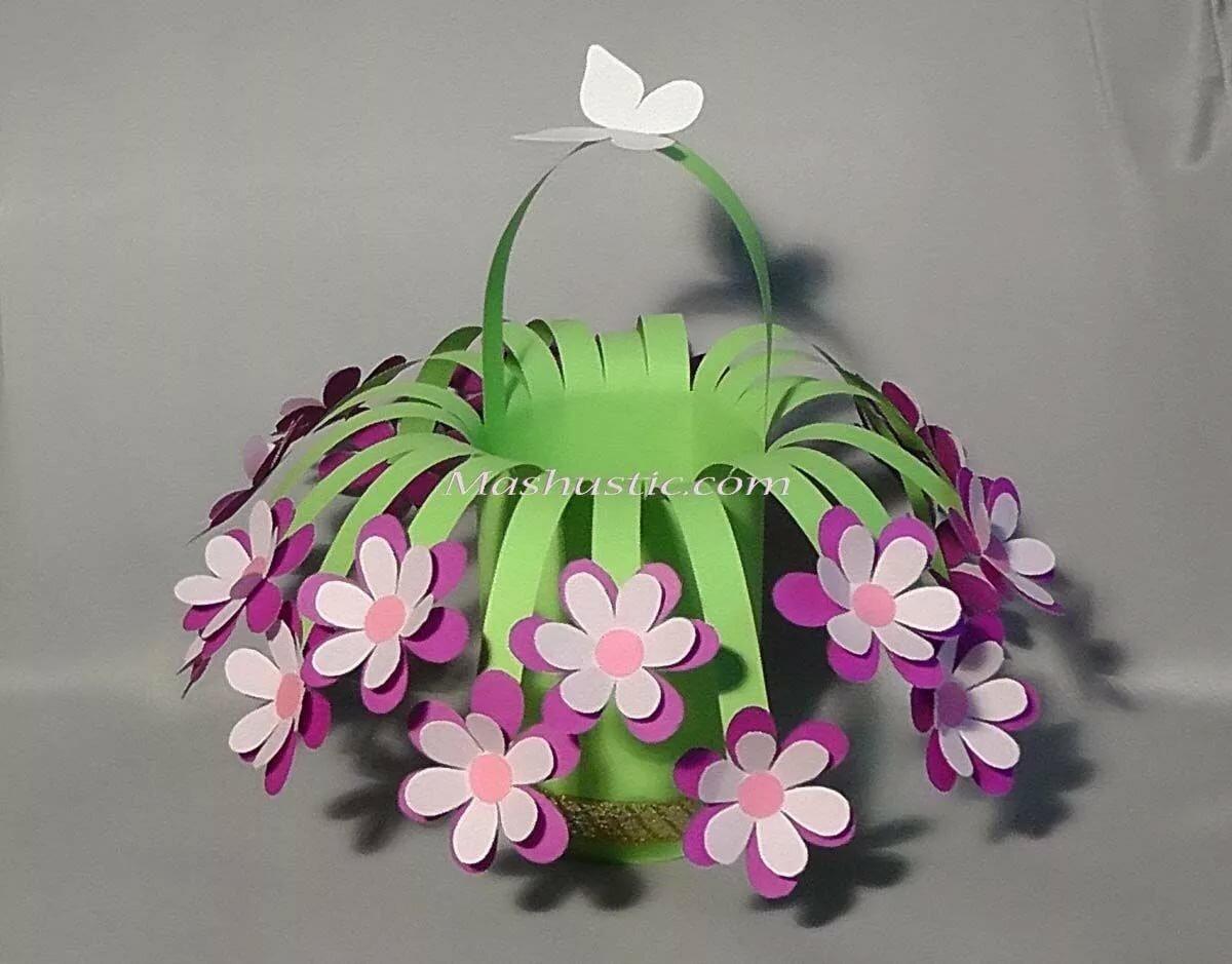 поделка букет цветов своими руками дисиай солюшнс общество