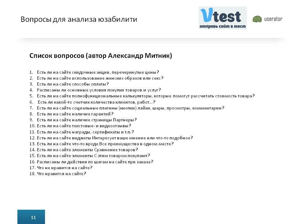 Список вопросов при создании сайтов сайт создание ярославль