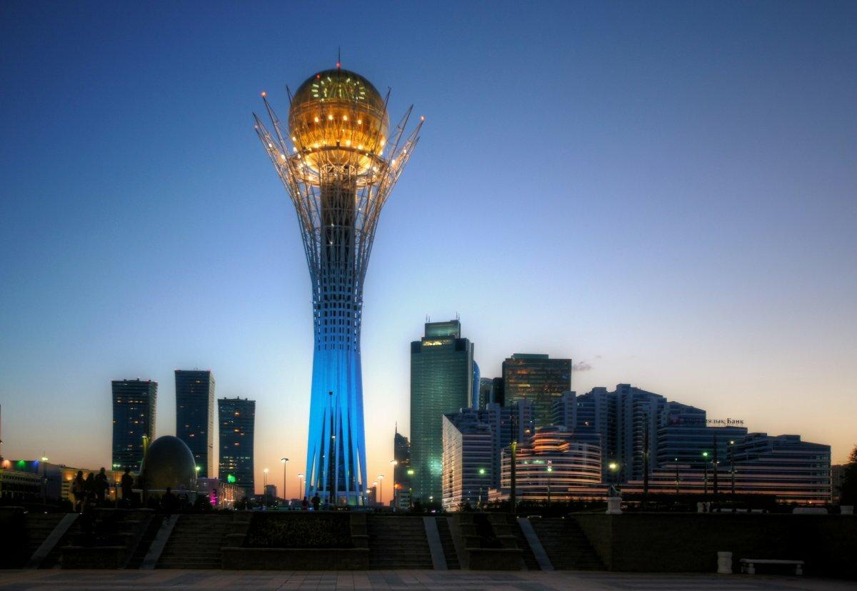 Картинки зданий казахстана