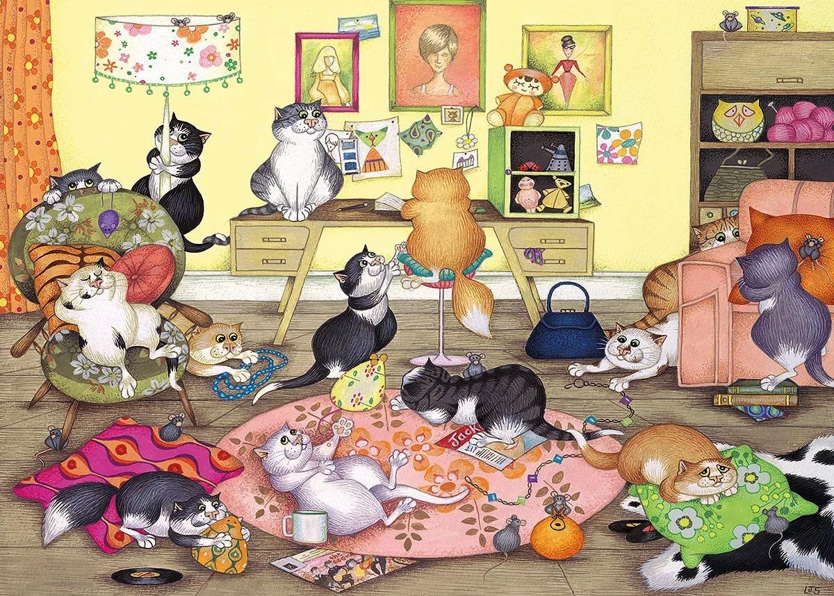 Найди из картинка кошка