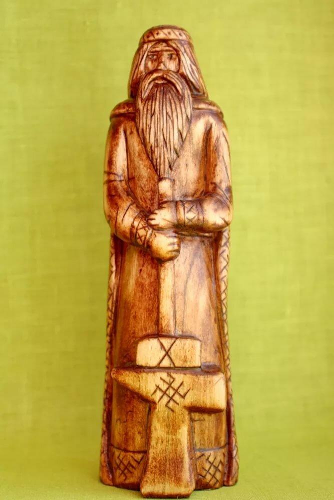 Славянский бог сварог картинки