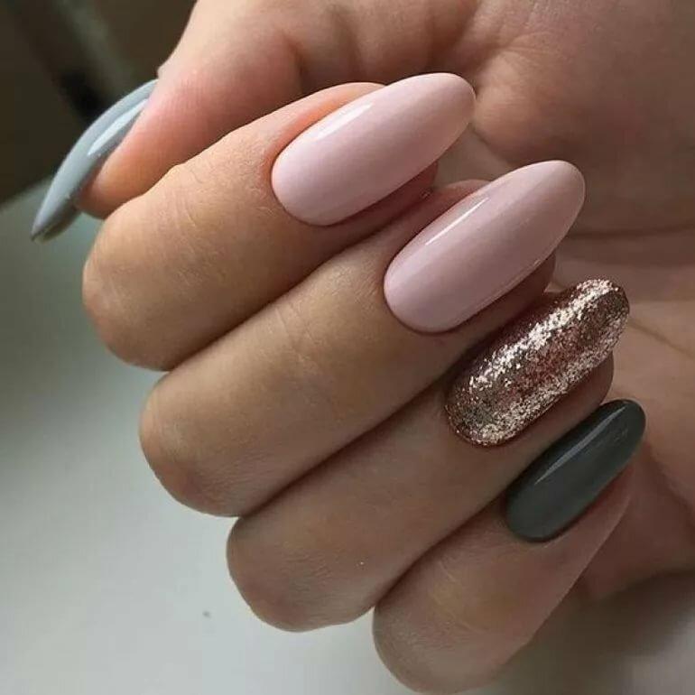 ожила дизайн ногтей в два цвета фото спицами