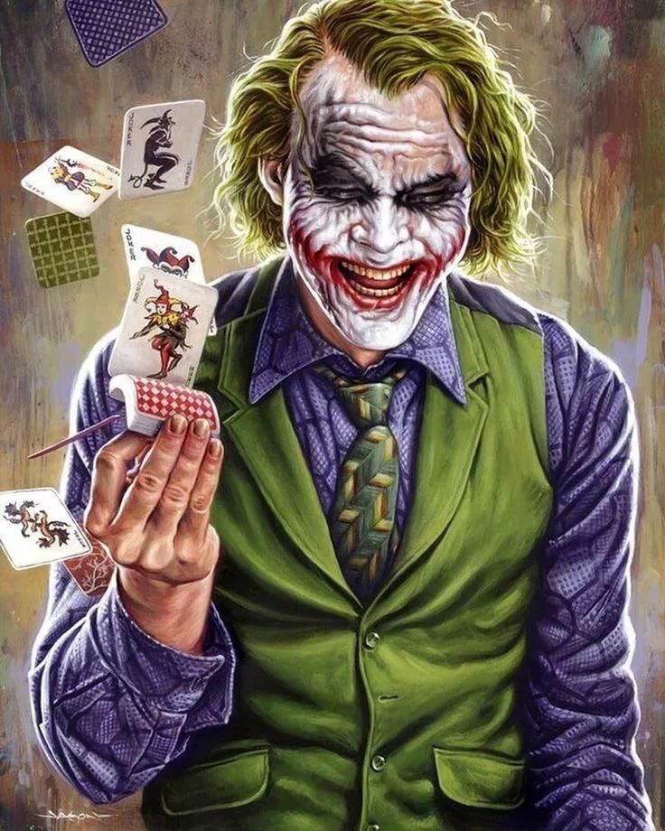 Джокер прикольная картинка, своими