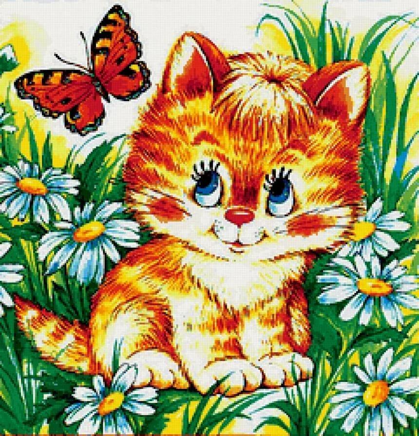Картинки для детей котенок, красивые картинки открытки