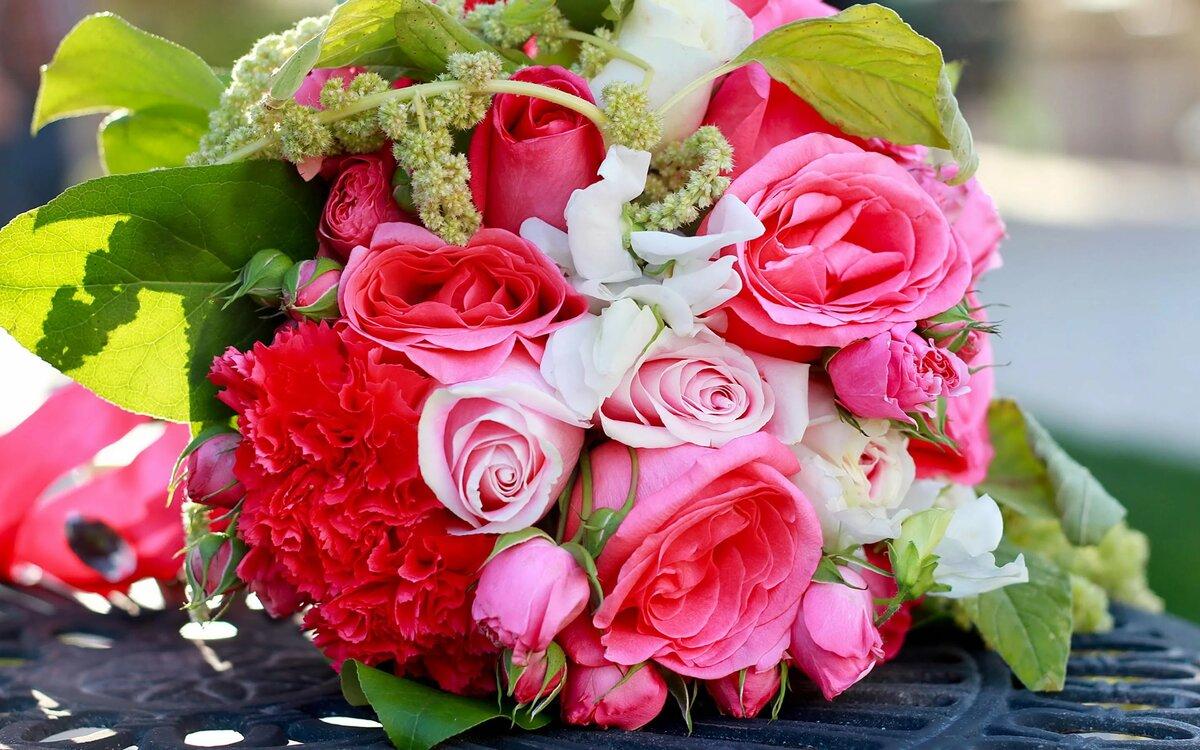 фото шикарного букета цветов высокого разрешения