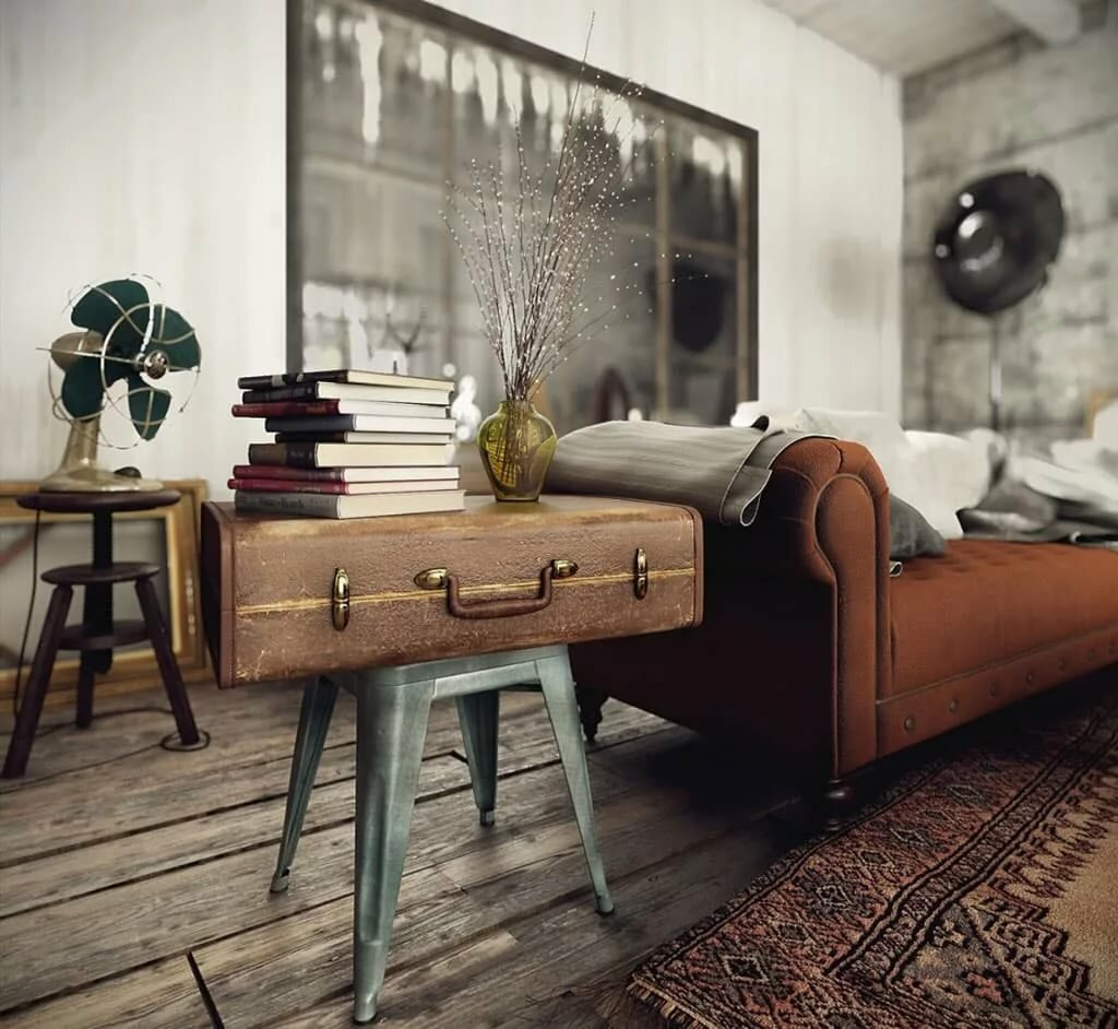 украшают ретро дизайн комнаты картинки много, всегда
