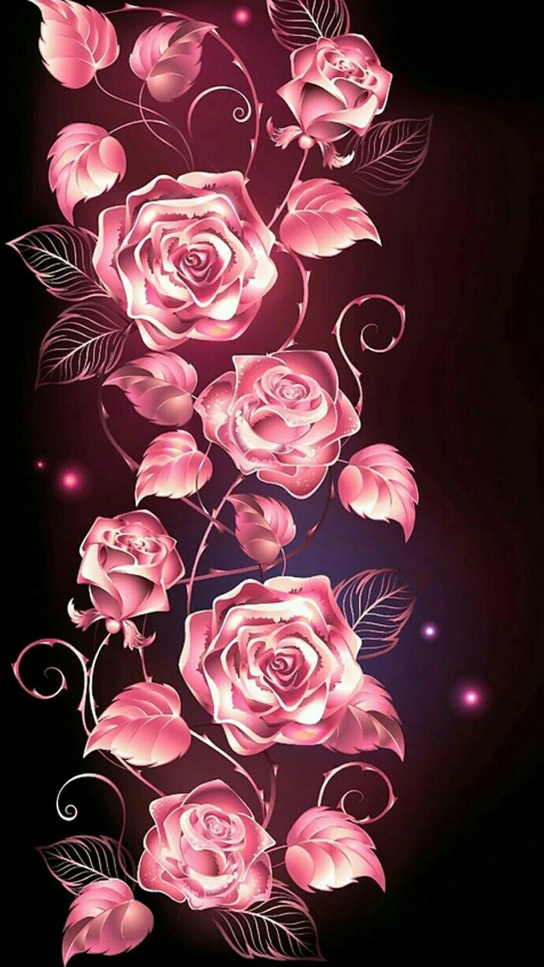 отношение, картинки на дисплей телефона цветы иман