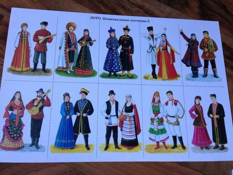 Картинки народности россии