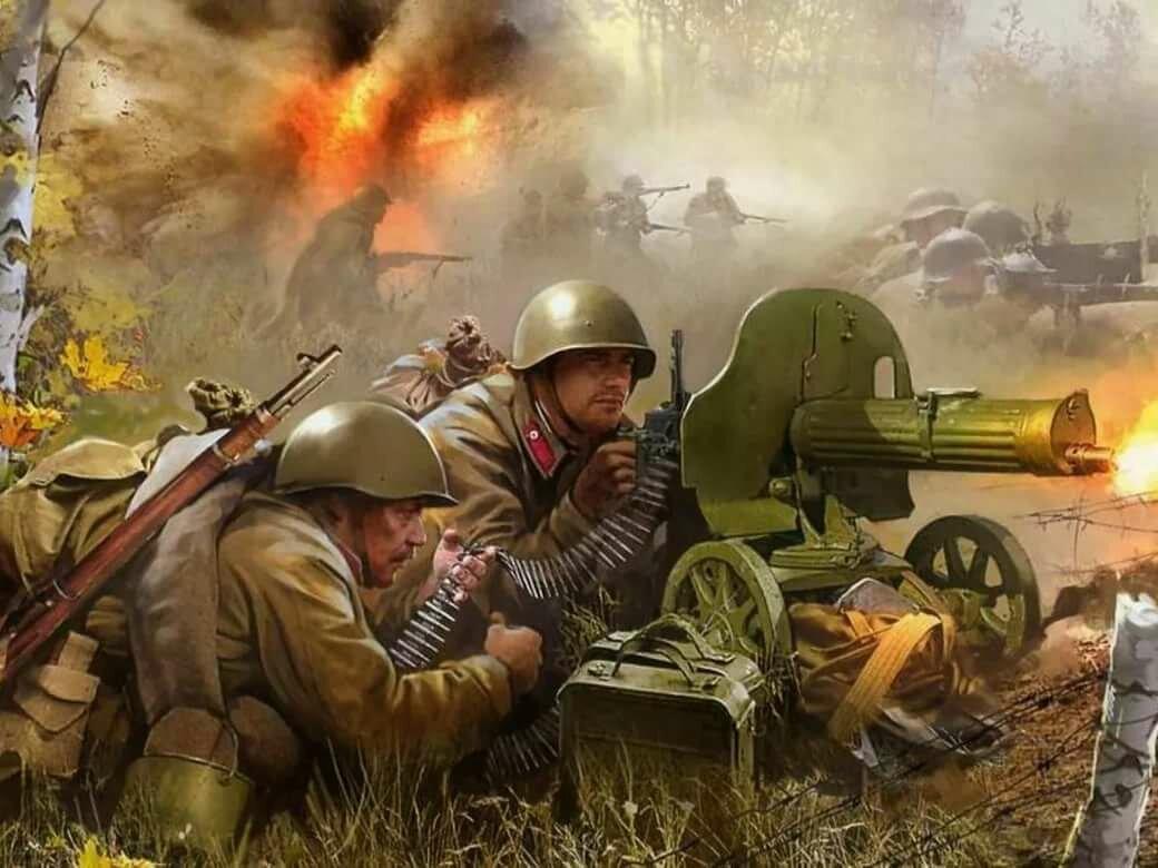 Война в открытках