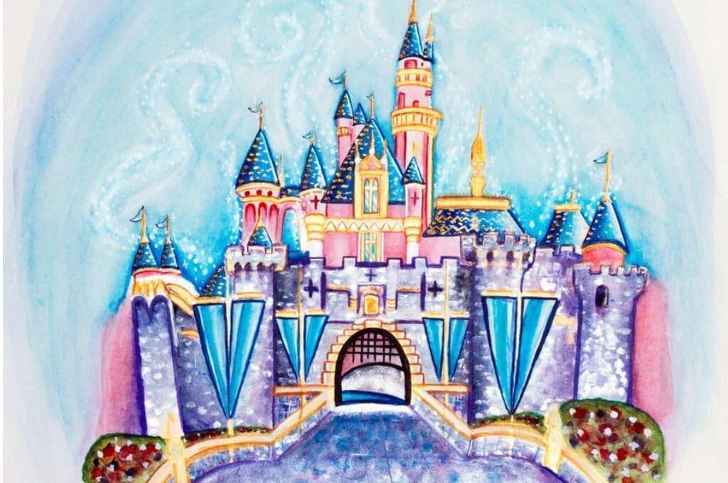 моя картинка по рисованию сказочный дворец прошлого века