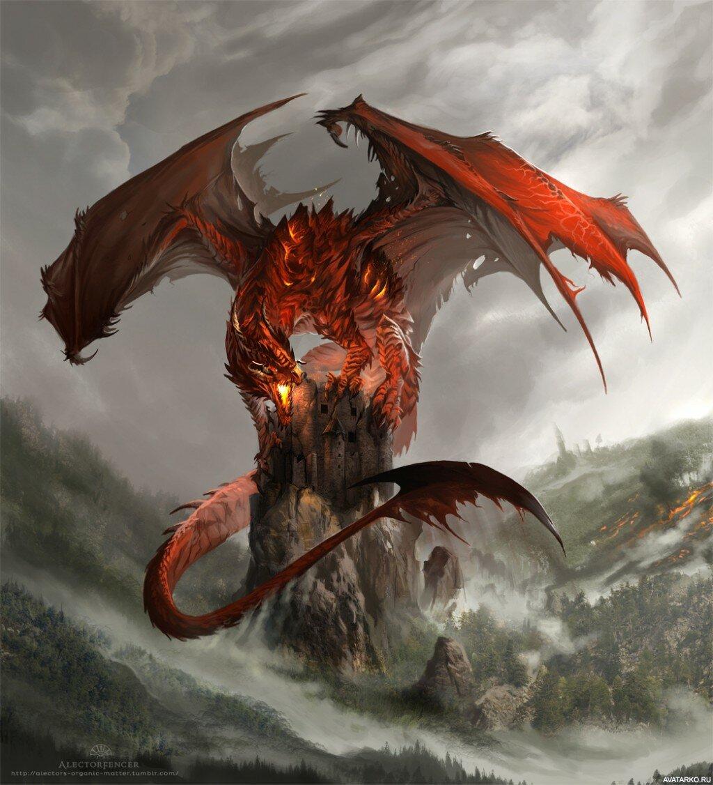 Крутые драконы картинки