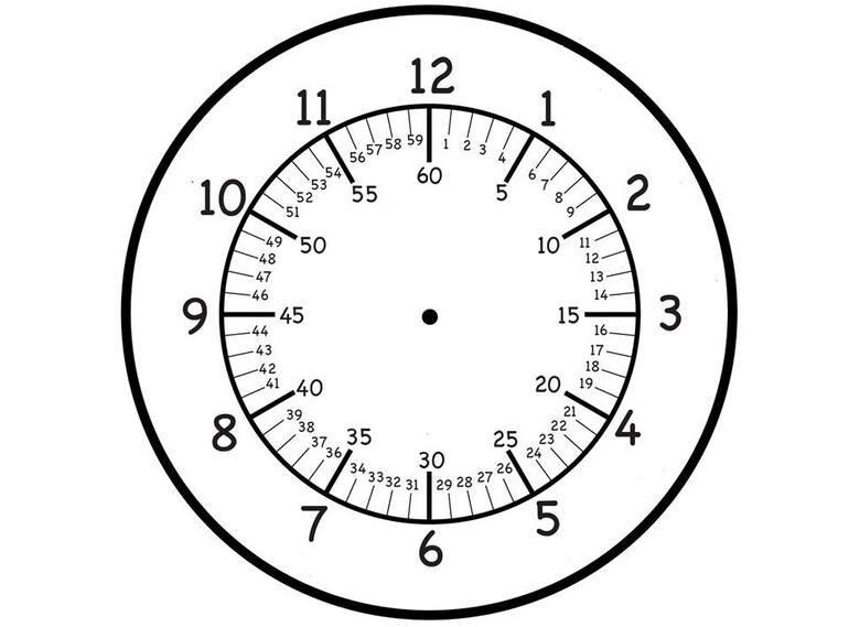 Стихами любимой, картинки часов для изучения времени
