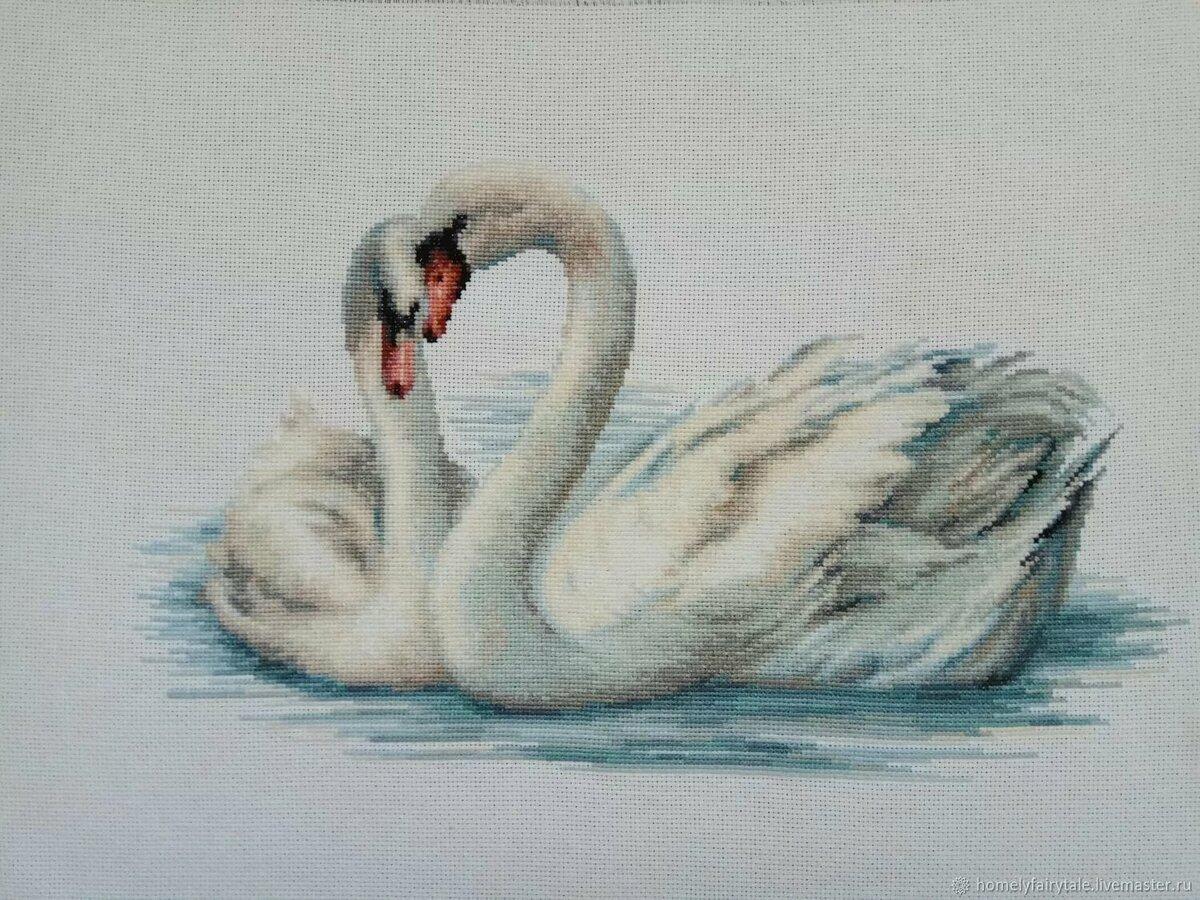 лебеди крестом картинки такой вариант