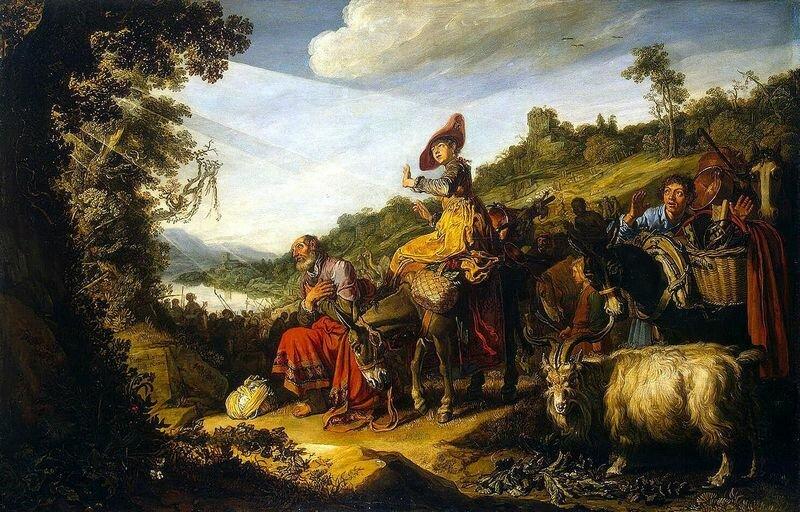 Питер Питерс Ластман Авраам на пути в Ханаан