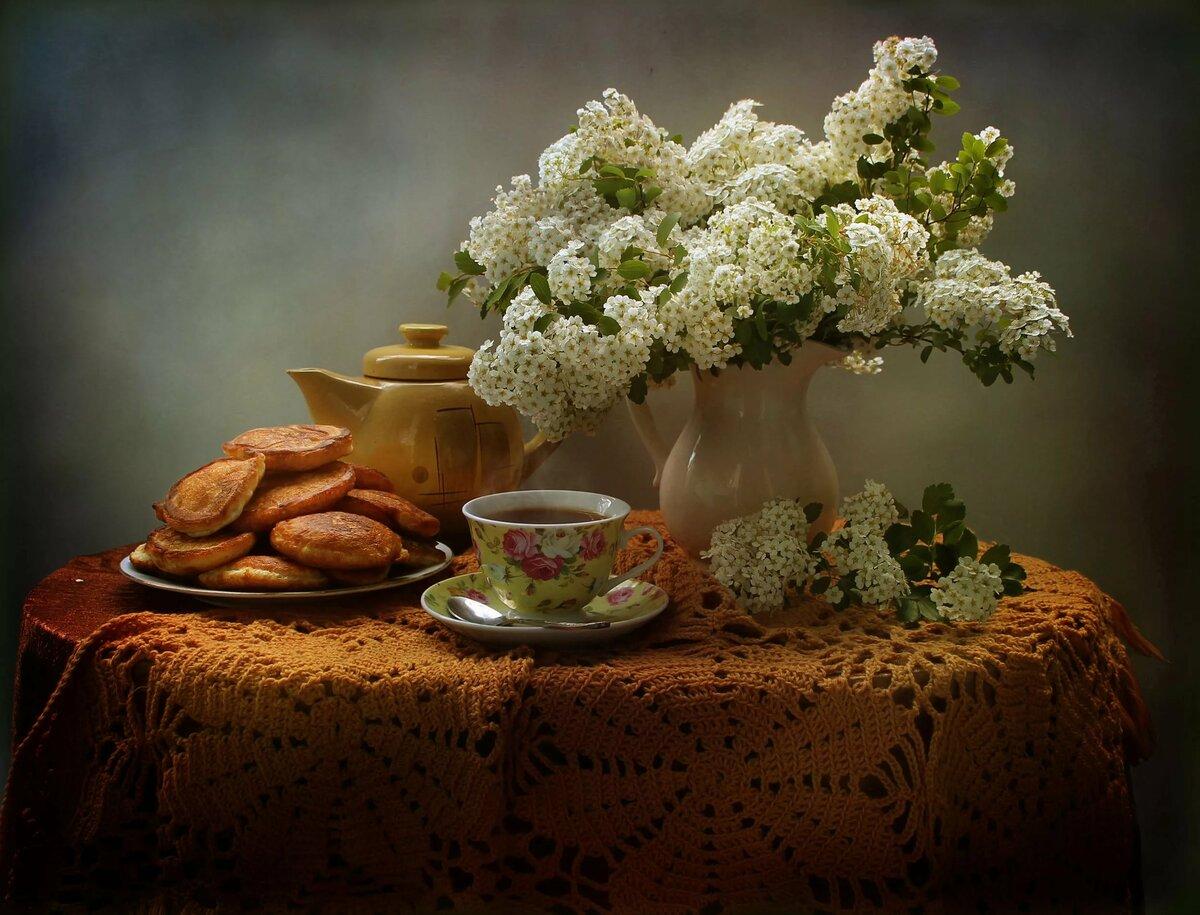 Красивые фото чайных натюрмортов